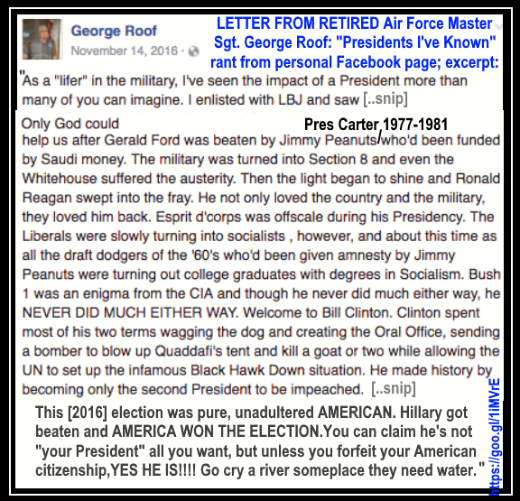Retired Air Force Describes Presidents 1963 2016 Jesus
