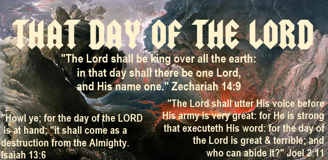 Image result for day of the lord in the bible