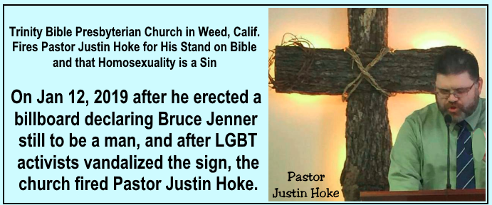 Scripture for Today, 1-16-19: Homosexuality - JESUS, OUR BLESSED HOPE