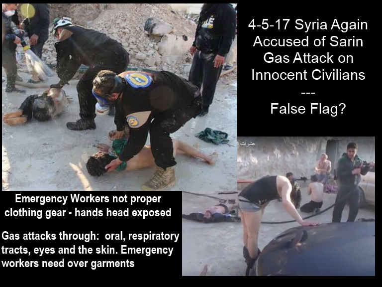 Image result for false flag syria gas