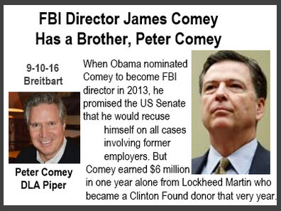 Peter comey clinton foundation